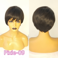 Pixie Cut Wig 13x6 Bob Lace Front Wigs Short Bob Wig 13x6 Lace Front Human Hair Wigs For Black Women Preplucked Lace Wig Brazilian